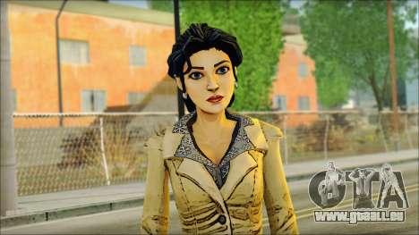 Blanche-Neige (Loup Parmi Nous) pour GTA San Andreas troisième écran