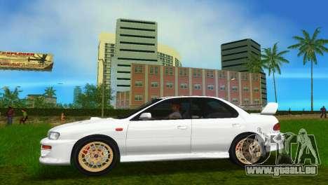Subaru Impreza WRX STI GC8 Sedan Type 3 pour une vue GTA Vice City de la droite