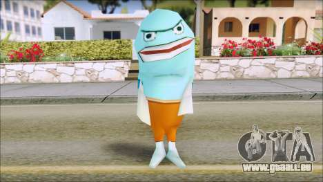 Blufish from Sponge Bob pour GTA San Andreas