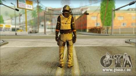 Mercenaire (SC: Blacklist) v2 pour GTA San Andreas deuxième écran