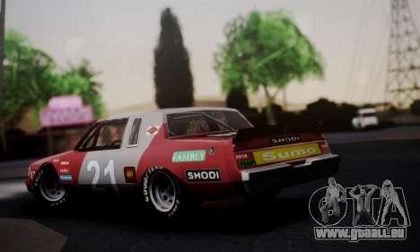 Buick Regal 1983 pour GTA San Andreas laissé vue