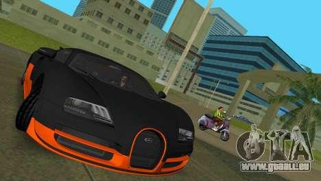 Bugatti Veyron Super Sport pour GTA Vice City