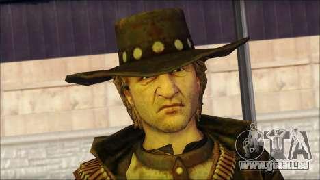 Ray McCall Gunslinger pour GTA San Andreas troisième écran