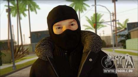 Vandal Euromaidan Style pour GTA San Andreas troisième écran