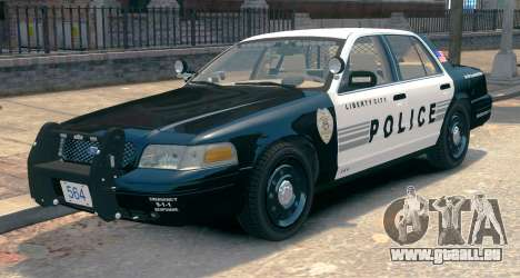 Ford Crown Victoria LCPD [ELS] Slicktop für GTA 4