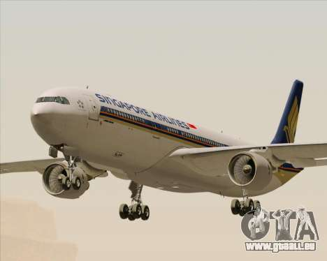 Airbus A330-300 Singapore Airlines für GTA San Andreas