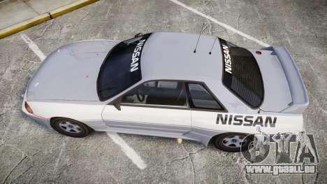 Nissan Skyline GTR R32 für GTA 4 rechte Ansicht