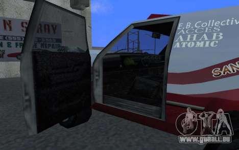 Mis À Jour Sandking pour GTA San Andreas laissé vue