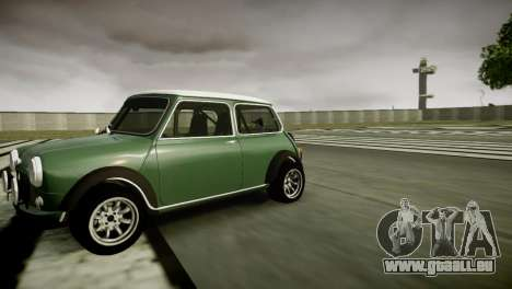Mini Cooper RWD pour GTA 4 est une gauche