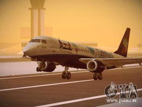 Embraer E190 Azul Tudo Azul pour GTA San Andreas