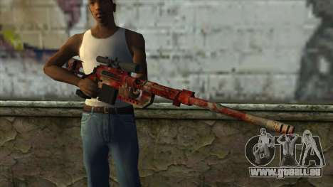 Sniper Rifle from PointBlank v3 pour GTA San Andreas troisième écran