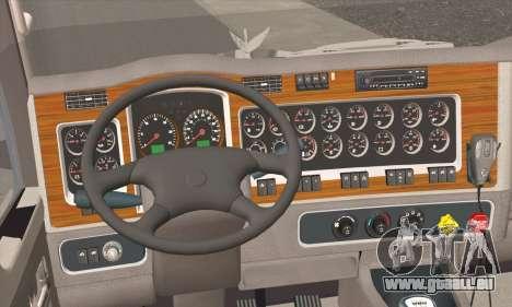 Kenworth T600 pour GTA San Andreas sur la vue arrière gauche