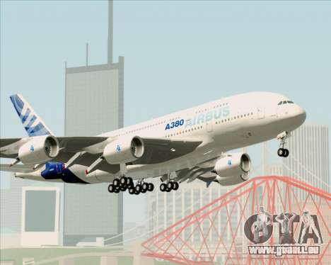 Airbus A380-861 für GTA San Andreas Räder
