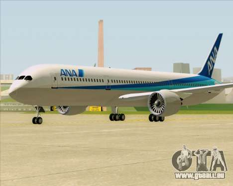 Boeing 787-9 All Nippon Airways für GTA San Andreas linke Ansicht