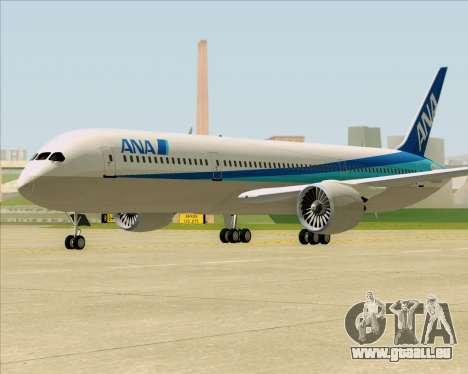 Boeing 787-9 All Nippon Airways pour GTA San Andreas laissé vue