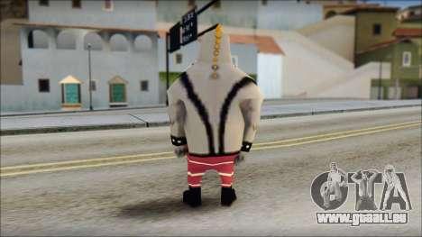 Bully from Sponge Bob für GTA San Andreas zweiten Screenshot