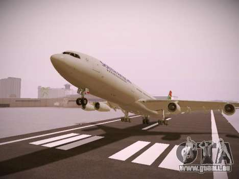 Airbus A340-300 South African Airways pour GTA San Andreas