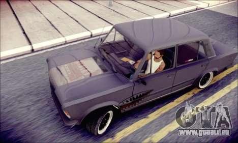 Fiat 125P Shark für GTA San Andreas Rückansicht