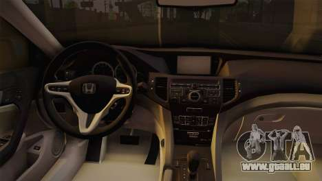 Honda Accord 2010 Hellaflush pour GTA San Andreas vue de droite