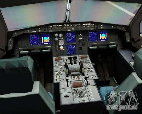 Airbus A330-300 SriLankan Airlines pour GTA San Andreas salon