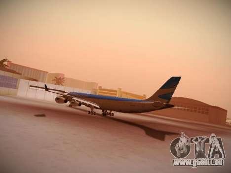 Airbus A340-300 D'Aerolineas Argentinas pour GTA San Andreas vue arrière