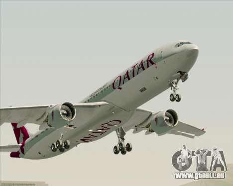 Airbus A330-300 Qatar Airways pour GTA San Andreas vue de côté