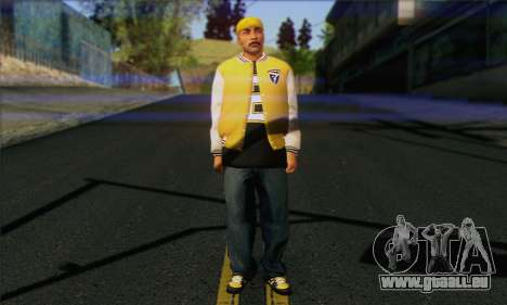 Vagos from GTA 5 Skin 3 pour GTA San Andreas