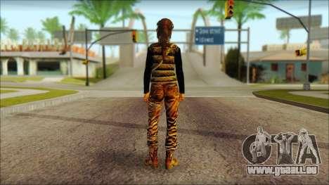 Tomb Raider Skin 1 2013 für GTA San Andreas zweiten Screenshot