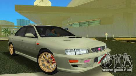 Subaru Impreza WRX STI GC8 Sedan Type 2 für GTA Vice City
