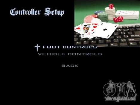 Menu Gambling für GTA San Andreas achten Screenshot