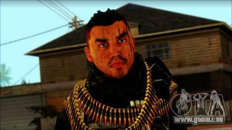 Australian Resurrection Skin from COD 5 pour GTA San Andreas troisième écran
