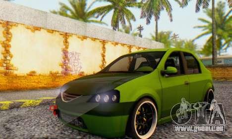 Dacia Logan MOR für GTA San Andreas
