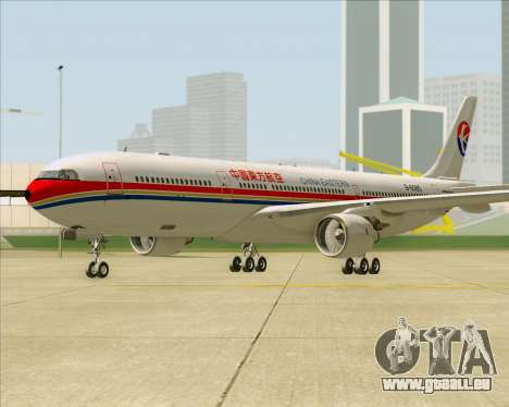 Airbus A330-300 China Eastern Airlines pour GTA San Andreas laissé vue