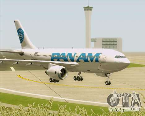 Airbus A310-324 Pan American World Airways für GTA San Andreas obere Ansicht