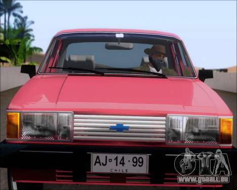 Chevrolet Opala Diplomata 1987 pour GTA San Andreas vue arrière