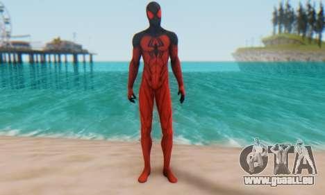 Skin The Amazing Spider Man 2 - Scarlet Spider pour GTA San Andreas deuxième écran