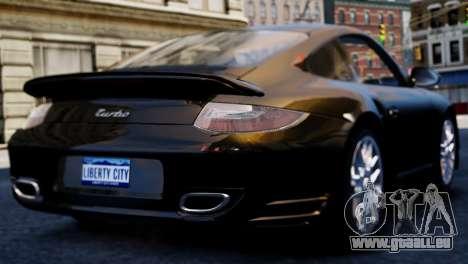 Porsche 911 Turbo pour GTA 4 est une gauche