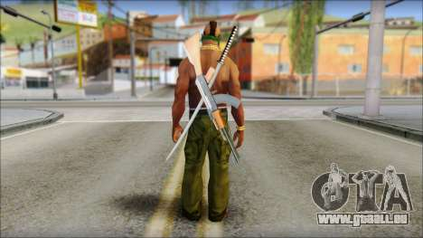 MR T Skin v11 für GTA San Andreas zweiten Screenshot
