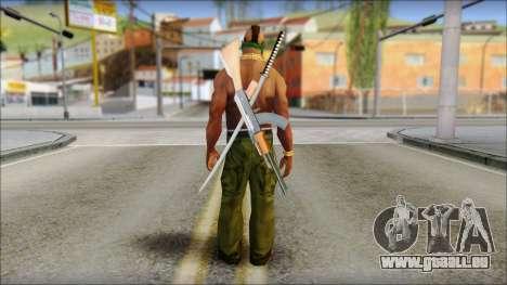 MR T Skin v11 für GTA San Andreas zweiten Screenshot