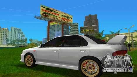 Subaru Impreza WRX STI GC8 Sedan Type 3 pour une vue GTA Vice City de la gauche