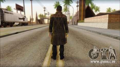 Aiden Pearce from Watch Dogs für GTA San Andreas zweiten Screenshot