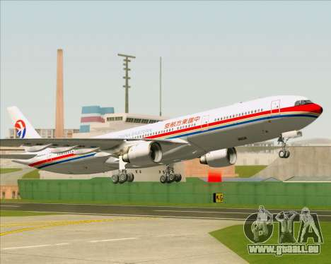 Airbus A330-300 China Eastern Airlines für GTA San Andreas Unteransicht