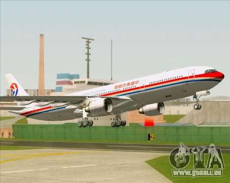 Airbus A330-300 China Eastern Airlines für GTA San Andreas Unteransicht