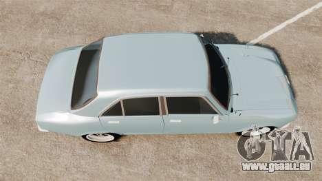 Peugeot 504 für GTA 4 rechte Ansicht