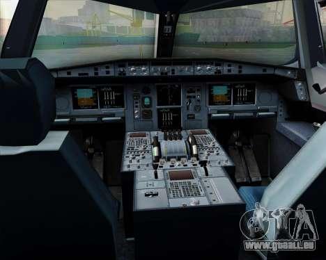 Airbus A380-800 All Nippon Airways (ANA) für GTA San Andreas Innen