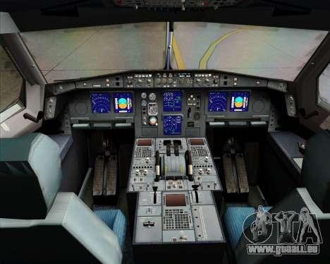 Airbus A340-313 Emirates für GTA San Andreas Innen
