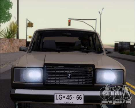 LADA 2107 pour GTA San Andreas roue