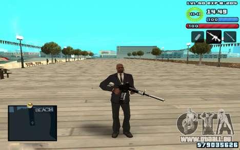 C-HUD by SampHack v10 pour GTA San Andreas troisième écran