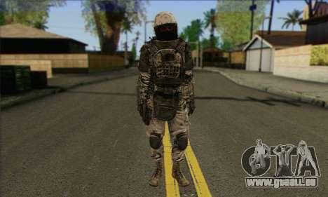Task Force 141 (CoD: MW 2) Skin 3 pour GTA San Andreas