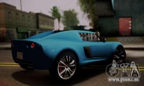 Coil Voltic from GTA 5 pour GTA San Andreas laissé vue